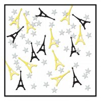 mpany  Eiffel Tower Confetti - Pack of 6