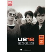 U2 - 18 Singles (Songbook) - eBook