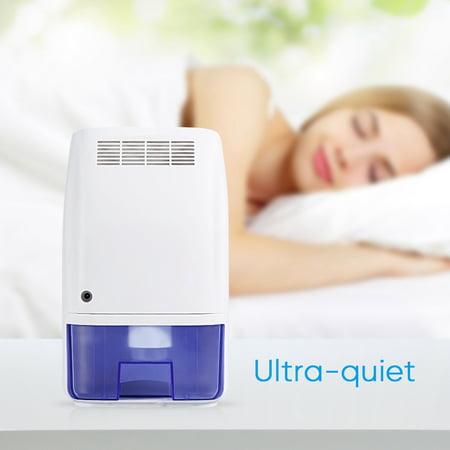 Air Dehumidifier 700ml Ultra Quiet Portable Dehumidifier Moisture Absorber For Bedroom