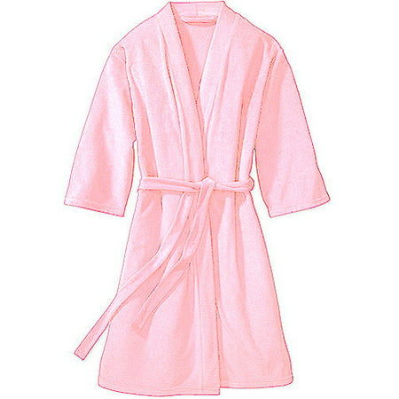 Women's 3/4-Sleeve Lightweight Terry Robe