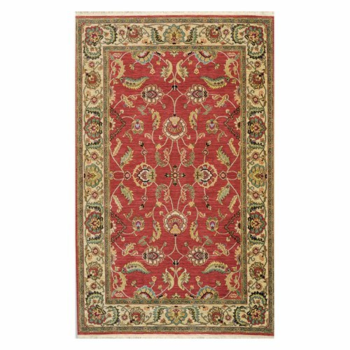 "Karastan Ashara Agra Red (2' 6""x4') by Mohwak Home"
