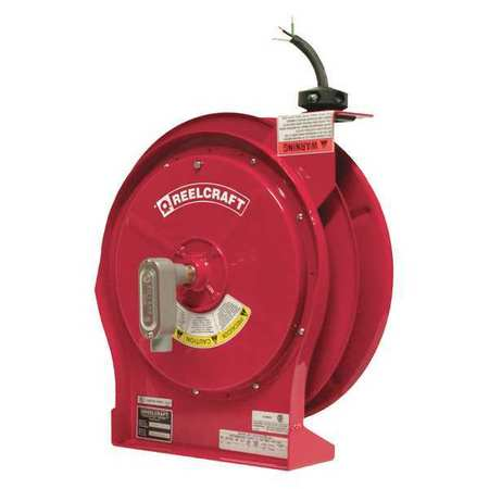 REELCRAFT L 5750 103 X 1 Cord Reel, 50 ft, 10/3, SEOOW, Red