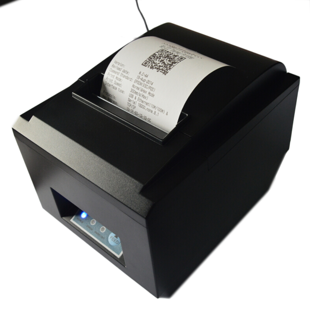 New Thermal Printer High Speed USB Port POS Thermal Receipt Printer compatible 80mm Thermal Paper Rolls