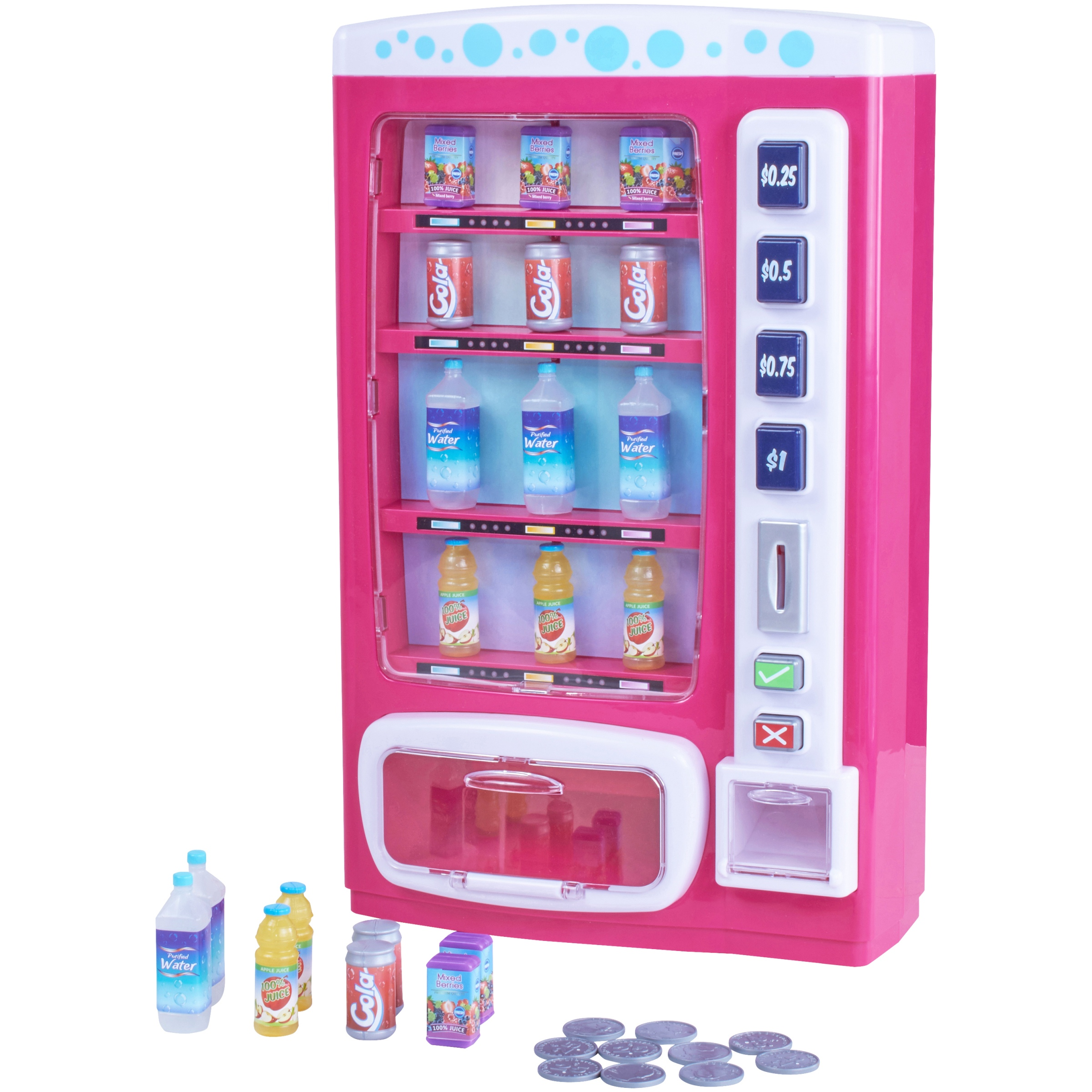 """My life as 29-piece doll vending machine set, for 18"""" dolls"""