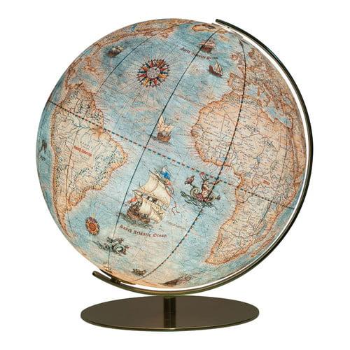 Columbus Globe Dresden Illuminated Desktop Globe