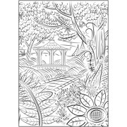 Cra-Z-Art Timeless Creations MAGICAL GARDENS Coloring Book - Walmart.com