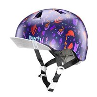 2016 Nina Summer Satin Purple Jungle w/ Flip Visor - S/M