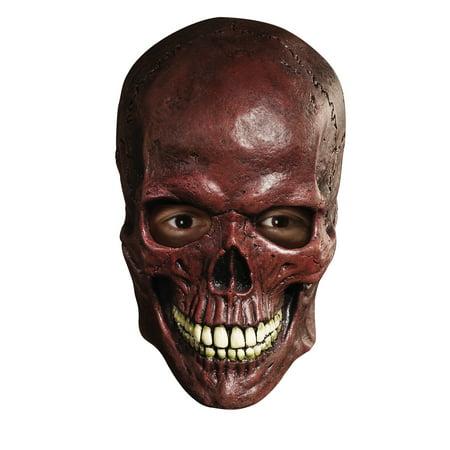 Blood Skull Overhead Latex Mask Horror Halloween Costume - Smiley Mask Horror
