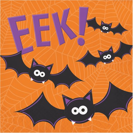 EEK! Friendly Halloween Luncheon Napkins - Party Supplies - Napkins