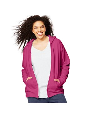 b47e2338b7c Product Image Just My Size ComfortSoft® EcoSmart® Fleece Full-Zip Women s  Hoodie - OJ105