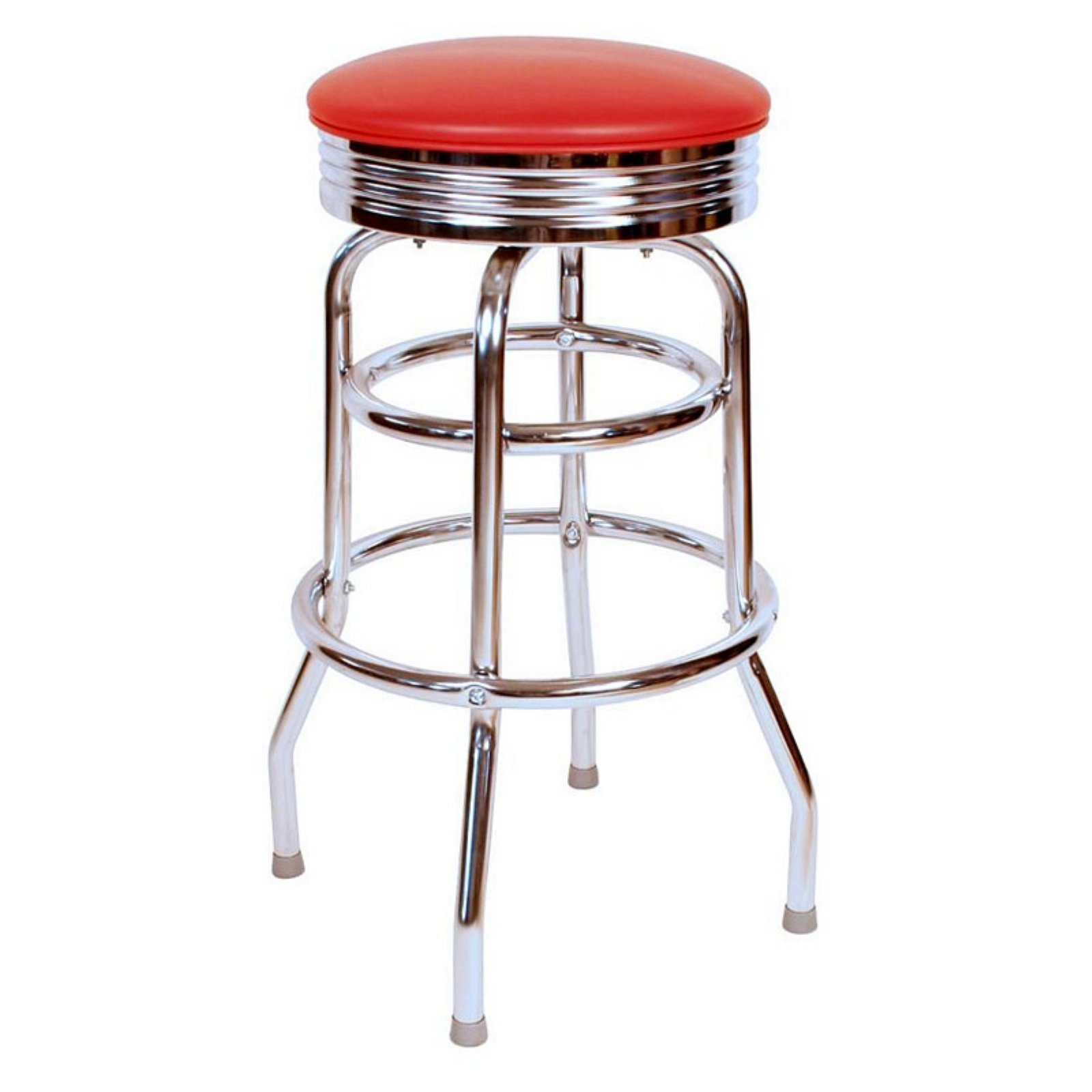 Richardson Seating Floridian 30 in. Retro Swivel Bar Stool