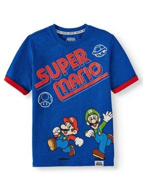 Super Mario Bros. Short Sleeve Graphic T-Shirt (Little Boys & Big Boys)
