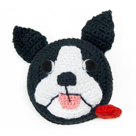 Tape Measure Handcrafted Ravelry Bob Dog  Hand Crocheted By Lantern Moon Ship From Us