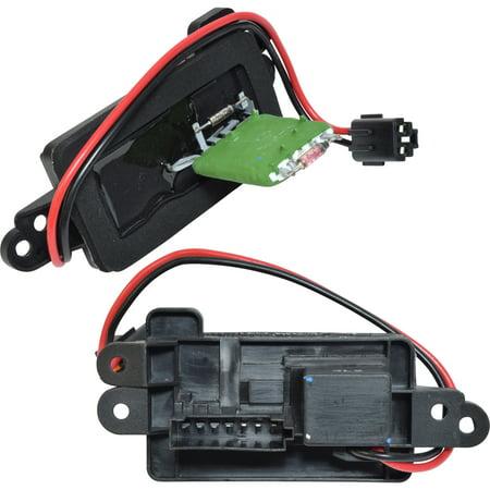New HVAC Blower Motor Resistor 1760010 - 22807123 Silverado 1500 Silverado 2500