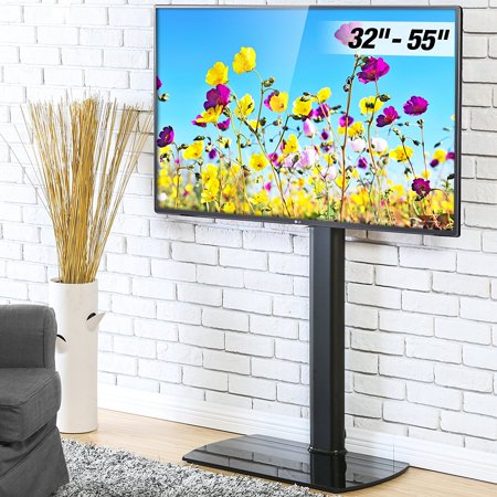 FITUEYES Floor TV Stand with Swivel Mount for 32 to 55 inch TVs Height Adjustable ()