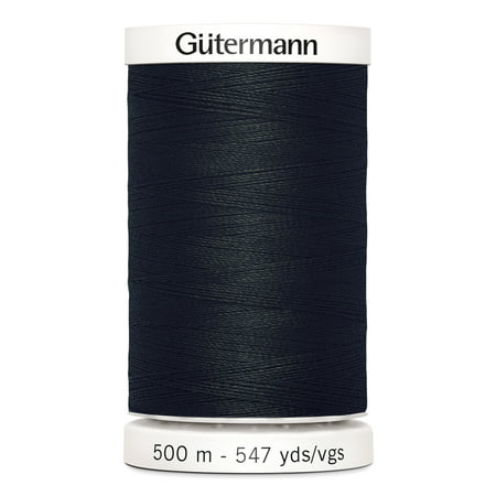 Gutermann Sew-All Polyester Black Thread, 547 (Gutermann Polyester Thread)