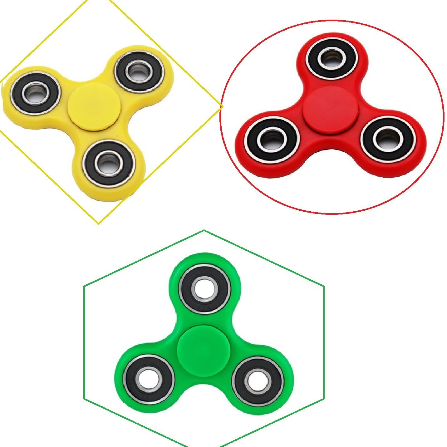 3 Red Spinners