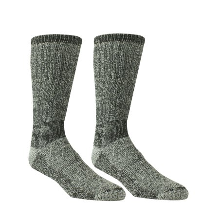 Thermal Dry Knit Sock, Gray, M, 2-Pack