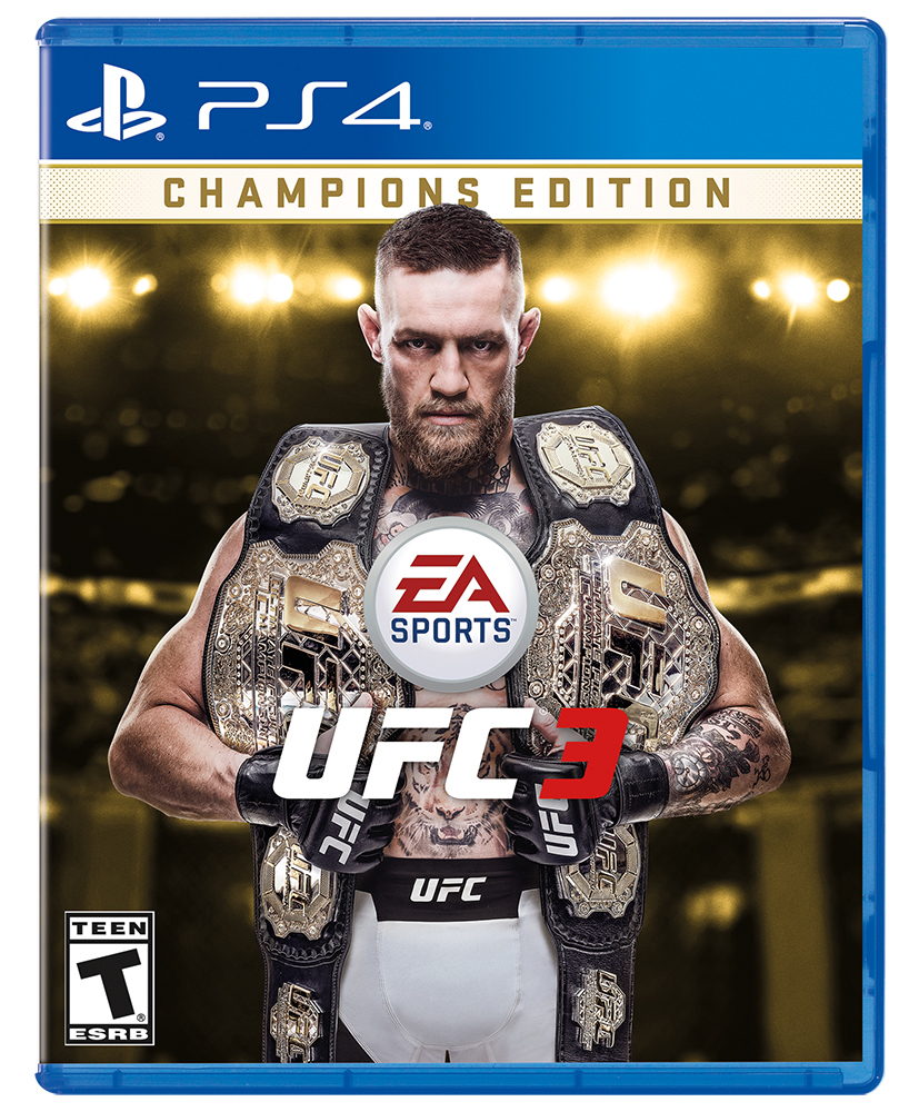 UFC 3 Championship Edition, Electronic Arts, PlayStation 4, 014633372243