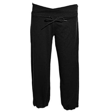 Adidas Womens ClimaLite Capri Pants Black -