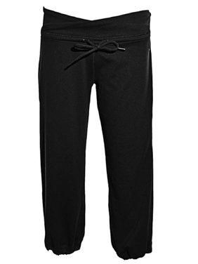 e81016ae2a2c Product Image Adidas Womens ClimaLite Capri Pants Black Small