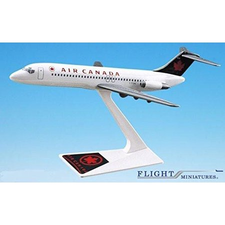 Air Canada (94-04) DC-9 Airplane Miniature Model Snap Fit Kit 1:200 Part# ADC-00903H-008