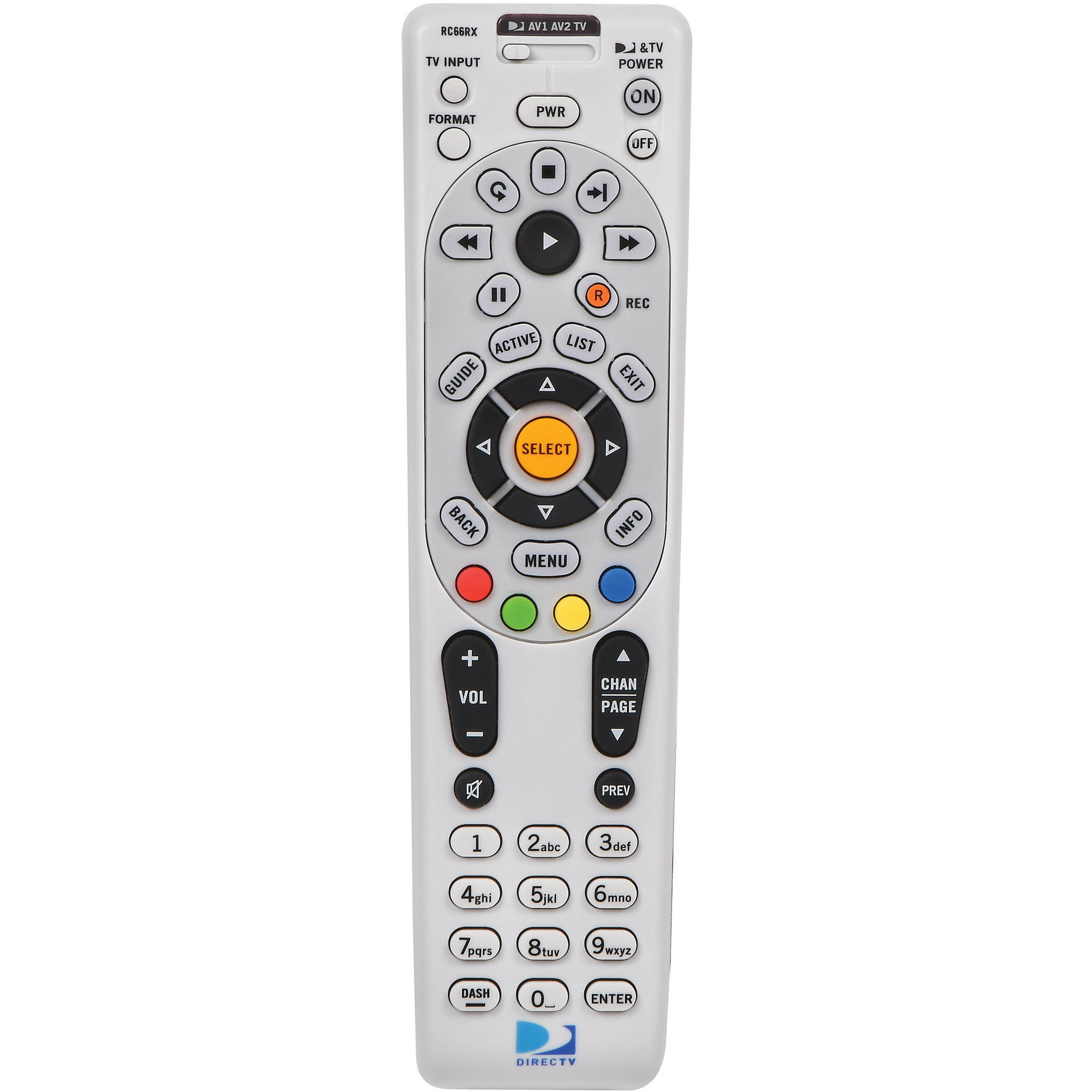 DIRECTV IR and RF Universal Remote Control