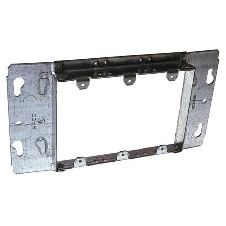 RACO 822 Electrical Box Cover3 GangBlank