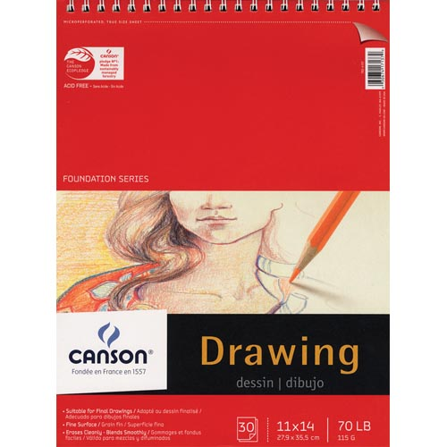 Canson Foundation Series Drawing Pads