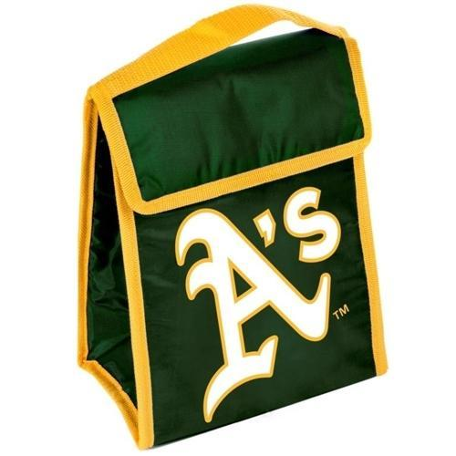 Oakland A's Official MLB 9 inch x 7 inch x 5 inch  Insulated Lunch Box Lunchbox Bag by Forever Collectibles