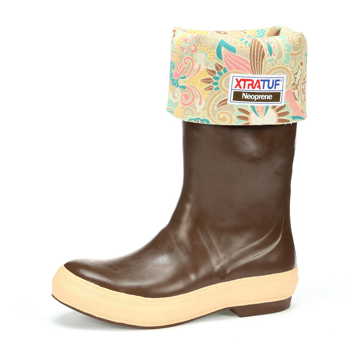 """XtraTuf Women's Legacy 15"""" Boots w/ Floral Liner, 22812G6"""