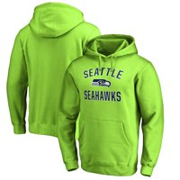 Seattle Seahawks NFL Pro Line by Fanatics Branded Victory Arch Pullover Hoodie - Neon Green