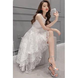 Women Sleeveless Bridesmaid Unique Long Prom Night Dress - Unique Dress Websites