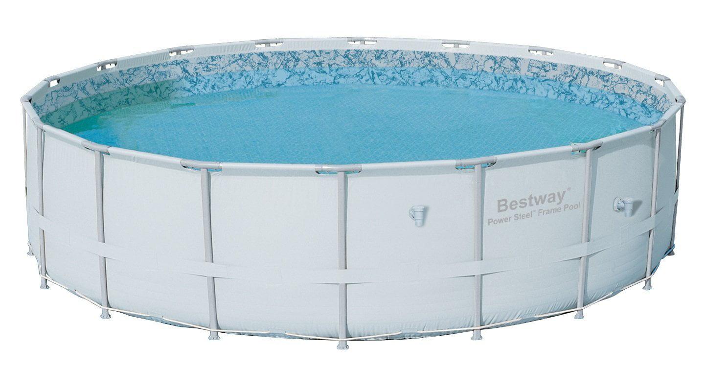 "Bestway 18' x 52"" Power Steel Pro Frame Above Ground Swimming Pool | 12753 by Bestway"