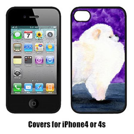Carolines Treasures SS8688IP4 Pomeranian Iphone4 Cover - image 1 de 1