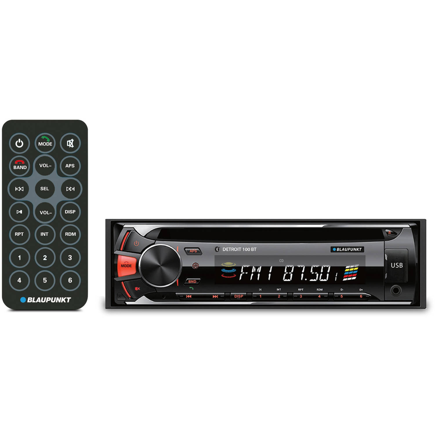 Blaupunkt Equalizer Wiring Diagram Trusted Diagrams Hifonics Cd And Mp3 Receiver With Bluetooth Detroit100bt