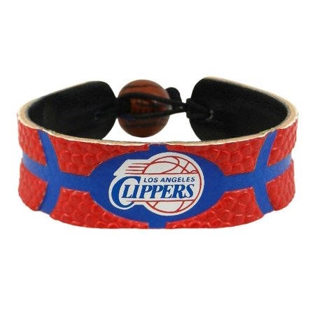 Los Angeles Clippers Team Color Basketball Bracelet by