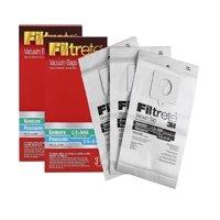 Kenmore C (50558) & Panasonic C-5 Micro Allergen Bag, Filtrete (3 Bags, per pack), Micro allergen filtration By 3M