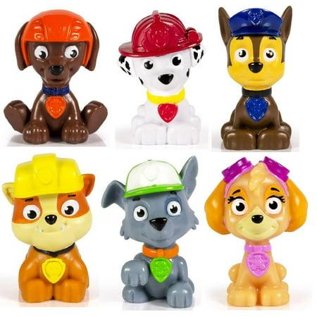 Cp Spin Master Paw Patrol Figure Set 6 Piece Nickelodeon's Paw Patrol mini figurines/ cake toppers Ivy Mini Cake