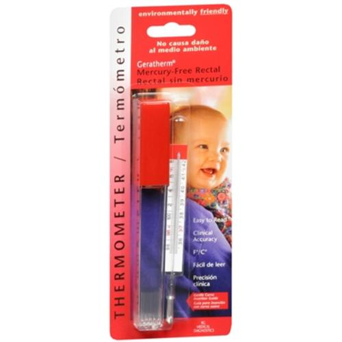 Geratherm Thermometer Rectal Mercury Free 1 Each (Pack of 3)