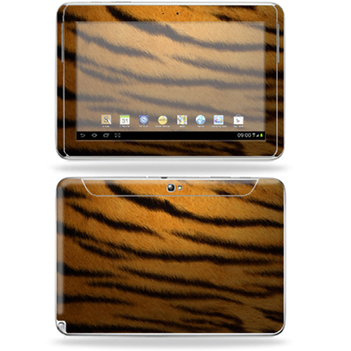 "Mightyskins Protective Skin Decal Cover for Samsung Galaxy Note 10.1"" inch Tablet wrap sticker skins Tiger"