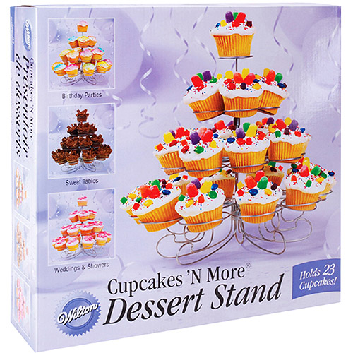 "Wilton Cupcakes 'N More?? 12""x13"" Dessert Stand, 23 ct. 307-826"