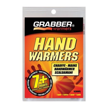 6 Pack Grabber Heat 7hr HAND WARMER Gloves, Boots, Instant Heat 2 per Pack each