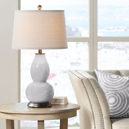Color + Plus Swanky Gray Double Gourd Table (Swanky Decor)