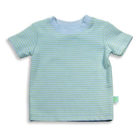 Pepper Toes by Baby Lulu - Baby Boys Short Sleeve Striped Top Multicoloured / 6 - Baby Lulu At Halloween