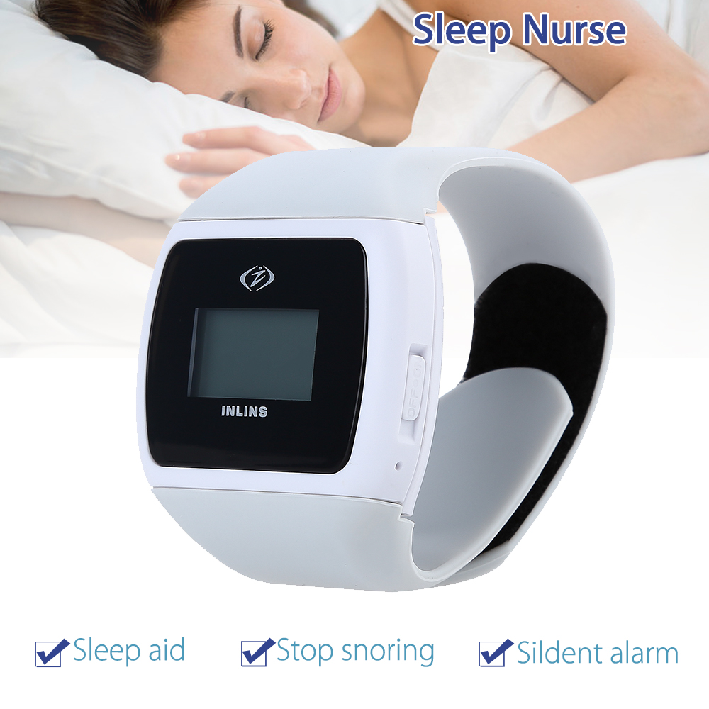 Anti Snore Sleeping Wristband Watch Blocker Stopper Breat...