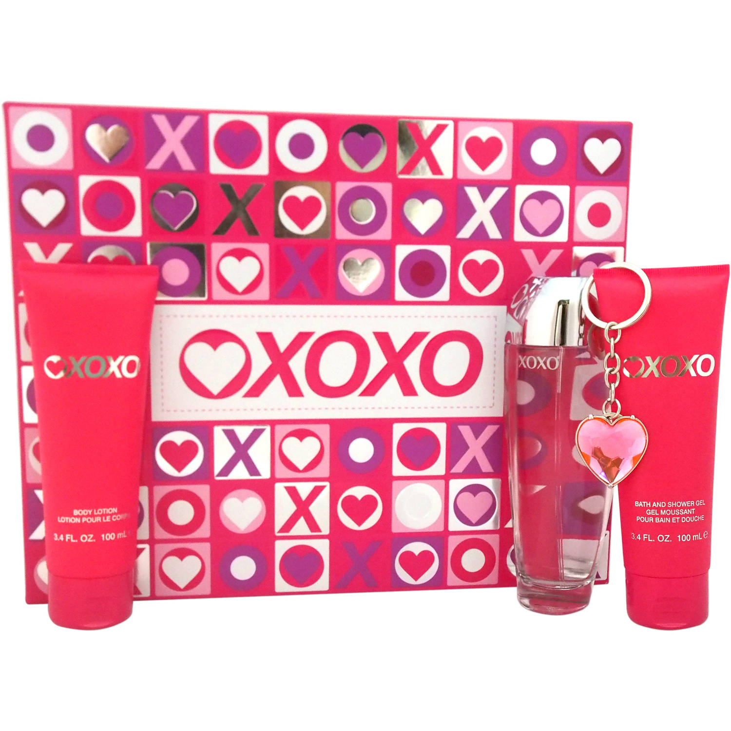 XOXO for Women Fragrance Gift Set, 4 pc