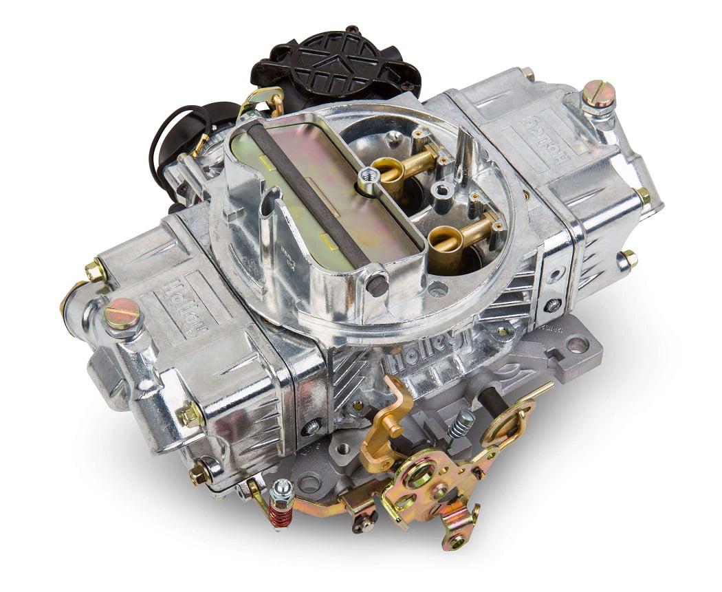Holley 0-80681 Lo-Rider Avenger 670 CFM Four Barrel Vacuum Secondary Electric Choke Carburetor