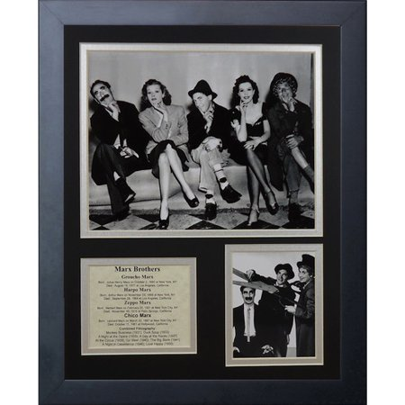 Legends Never Die The Marx Brothers Framed Memorabilia