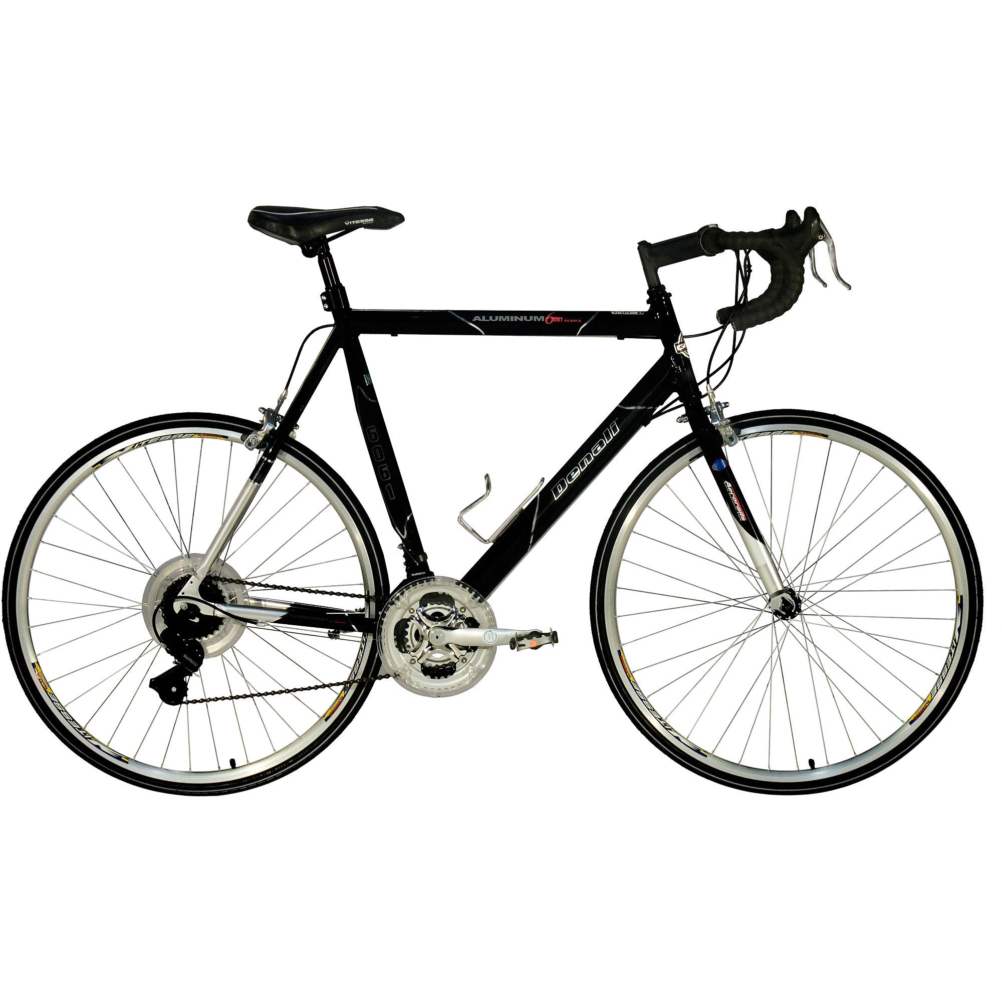 "25"" GMC Denali 700c Men's Road Bike, Black"